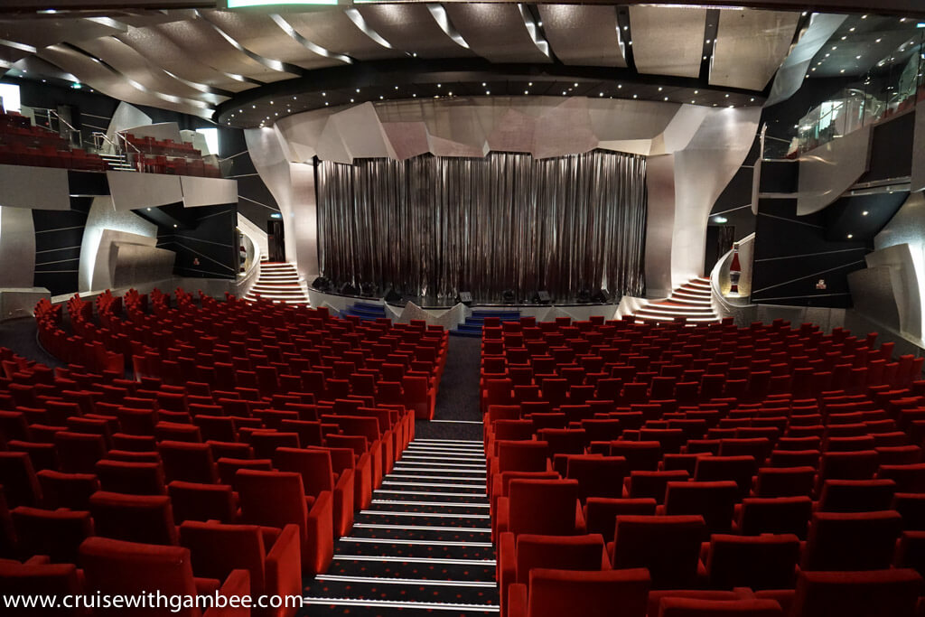 MSC Divina main theater