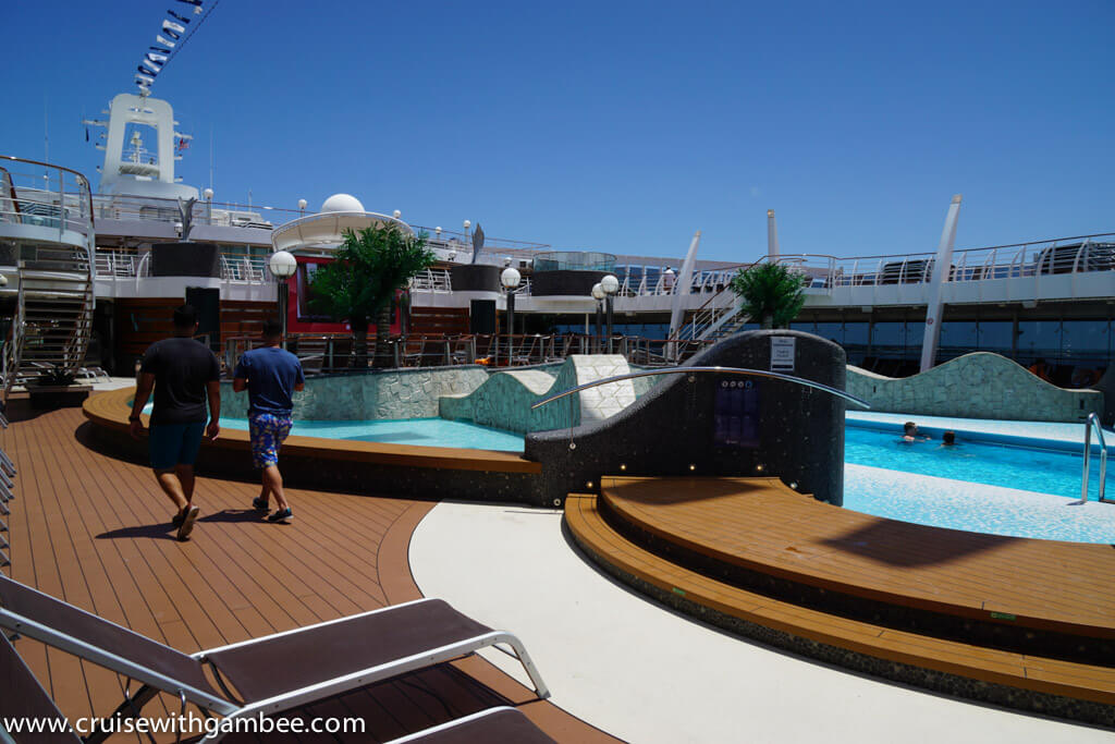MSC Divina main pools