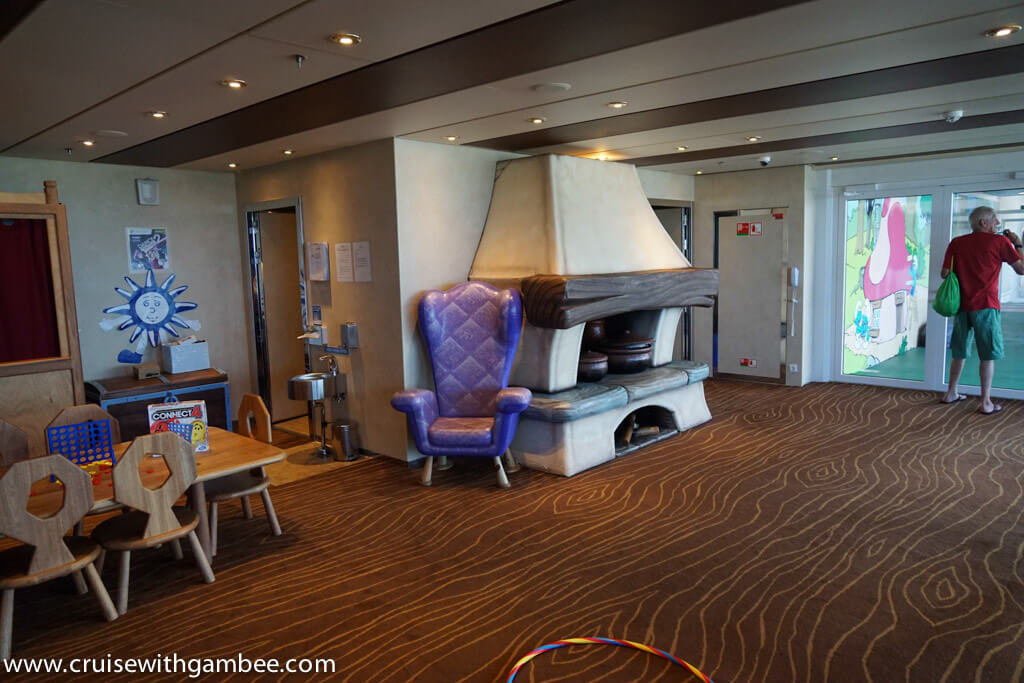 MSC Divina Kids club