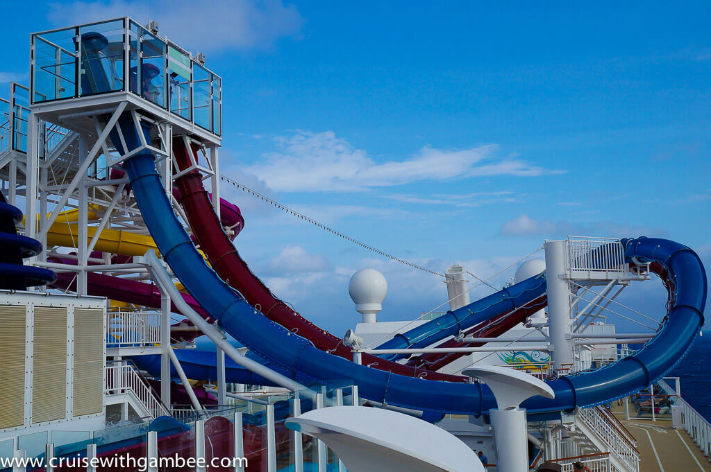 Cruise Ship Water slides-1