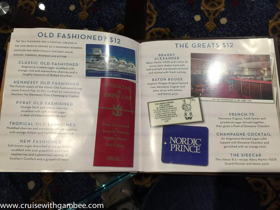 Quantum of the Seas Drink Lists-3