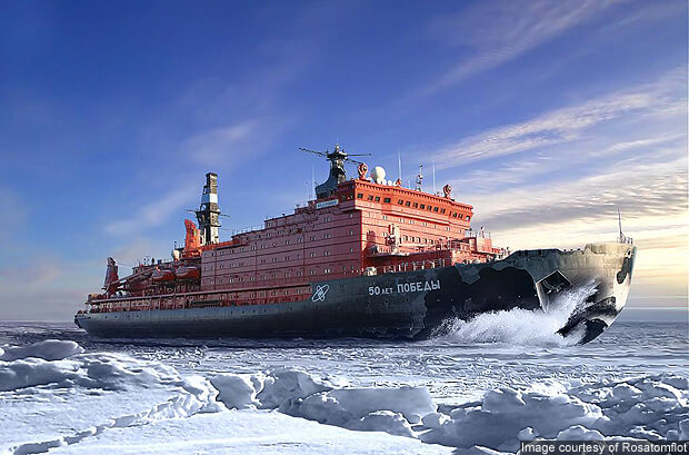 Cruise to the North Pole?