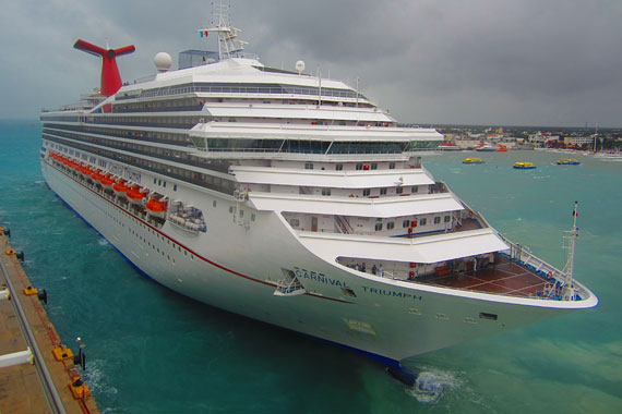 Body found after passenger falls from Carnival Triumph