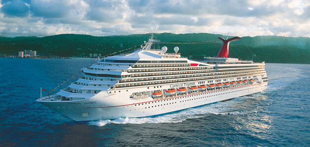 Carnival Triumph to Sail from New Orleans Year-Around