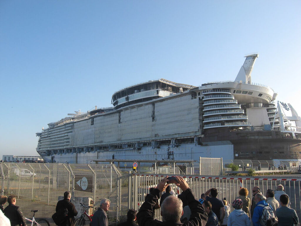 Harmony of the Seas Float Out-10