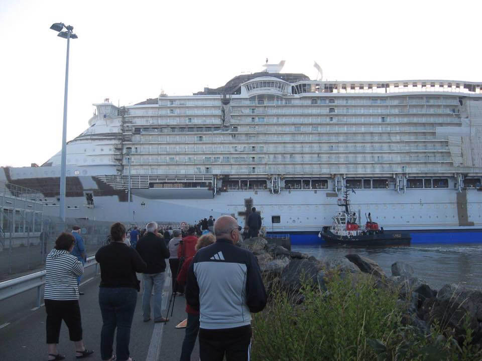 Harmony Of The Seas Float Out Cruise With Gambee