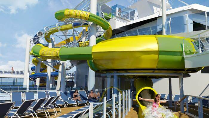 Harmony of the Seas Water Slides