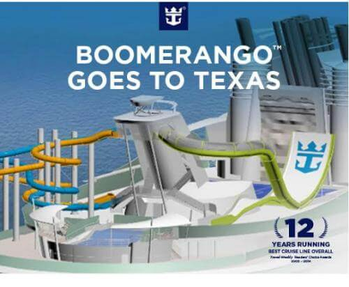 Liberty of the Seas to get Boomerango water slide