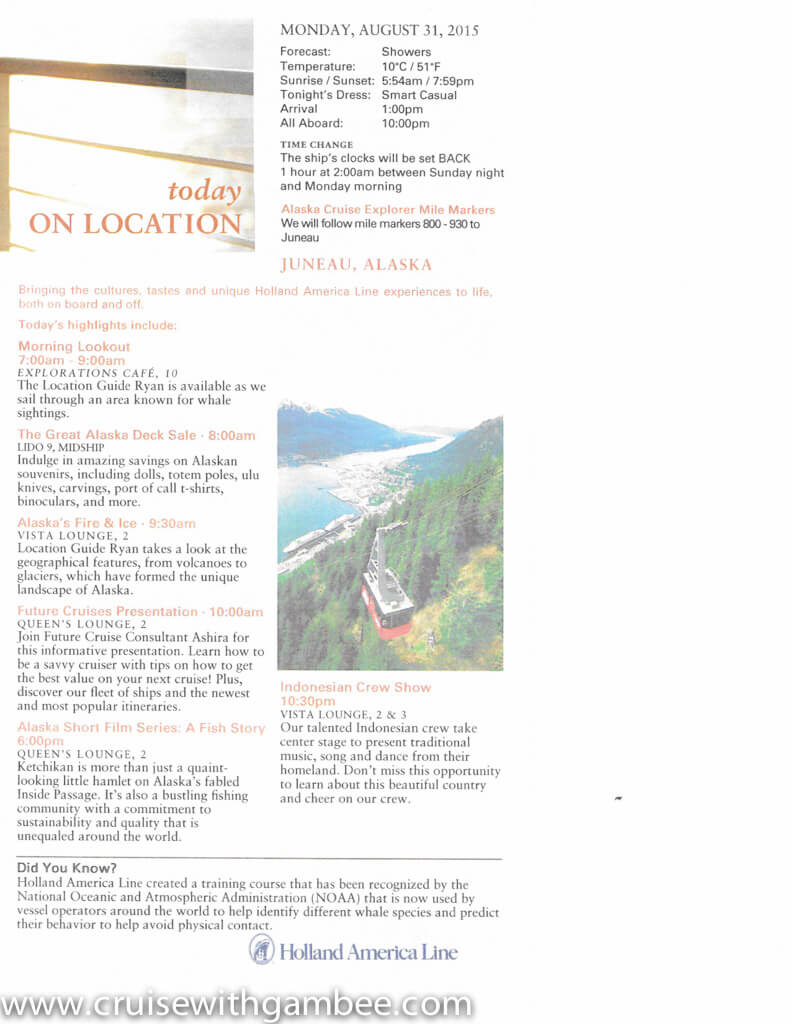 holland america on location daily papers-7