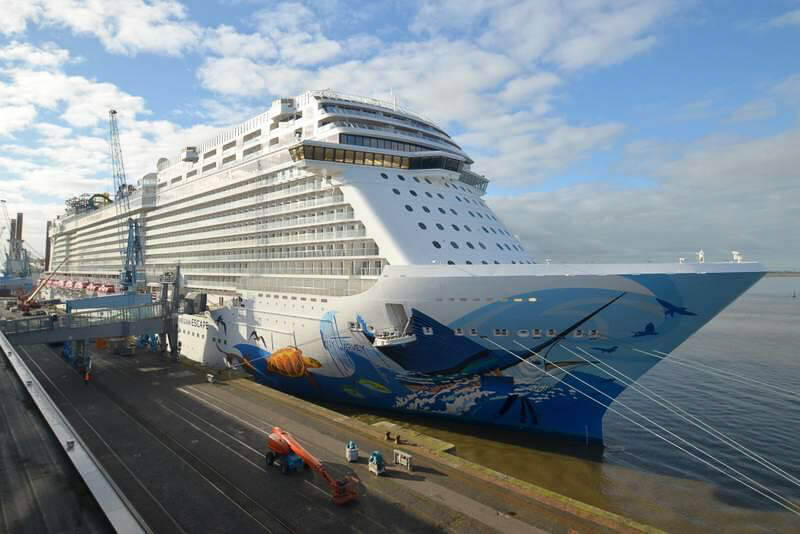 Norwegian Escape Is Almost Ready Cruise With Gambee
