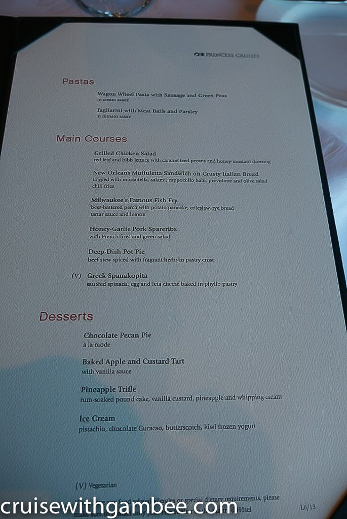 princess cruise menu-14