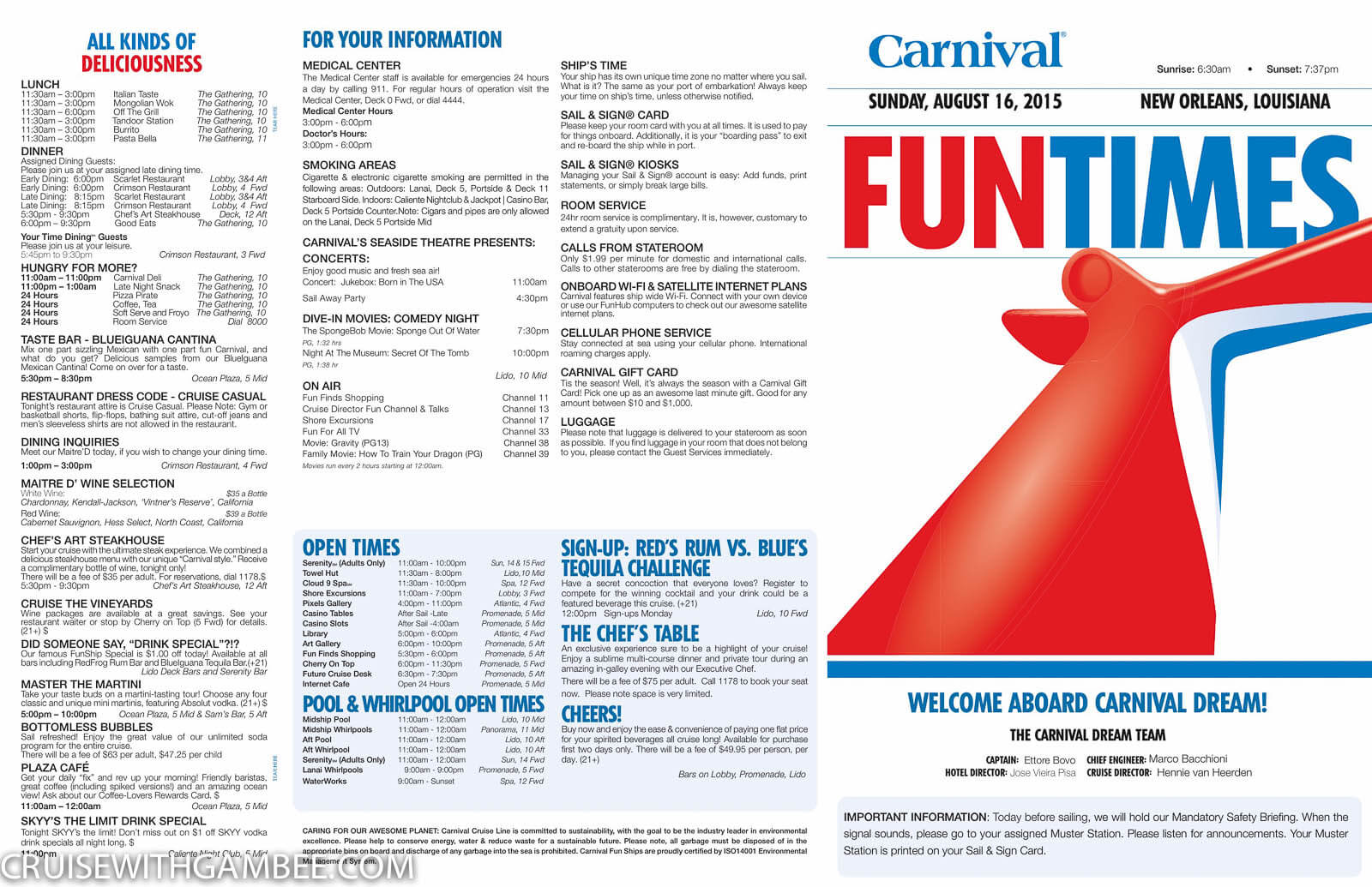 Carnival Dream Funtimes-1