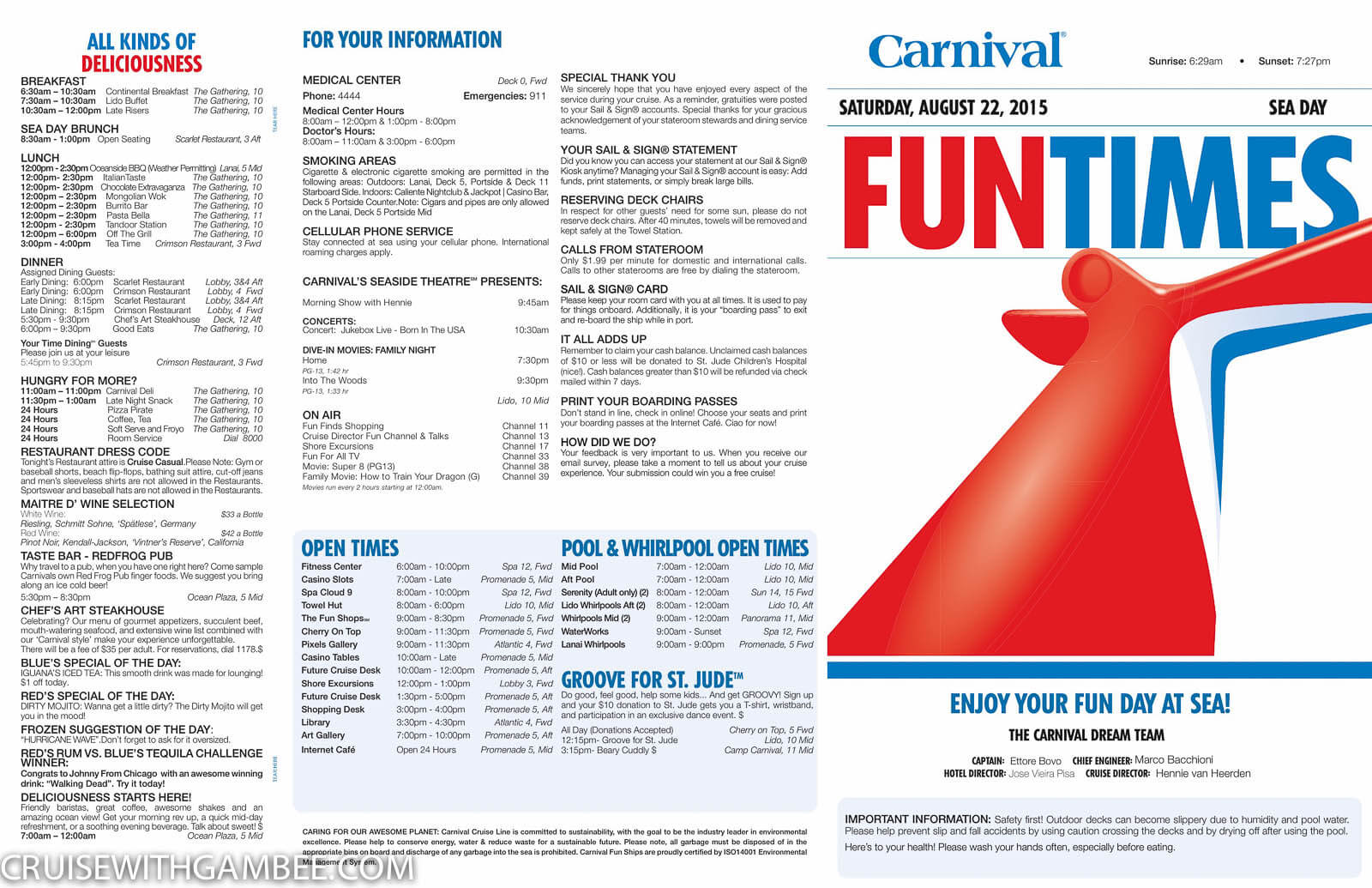 Carnival Dream Funtimes-13
