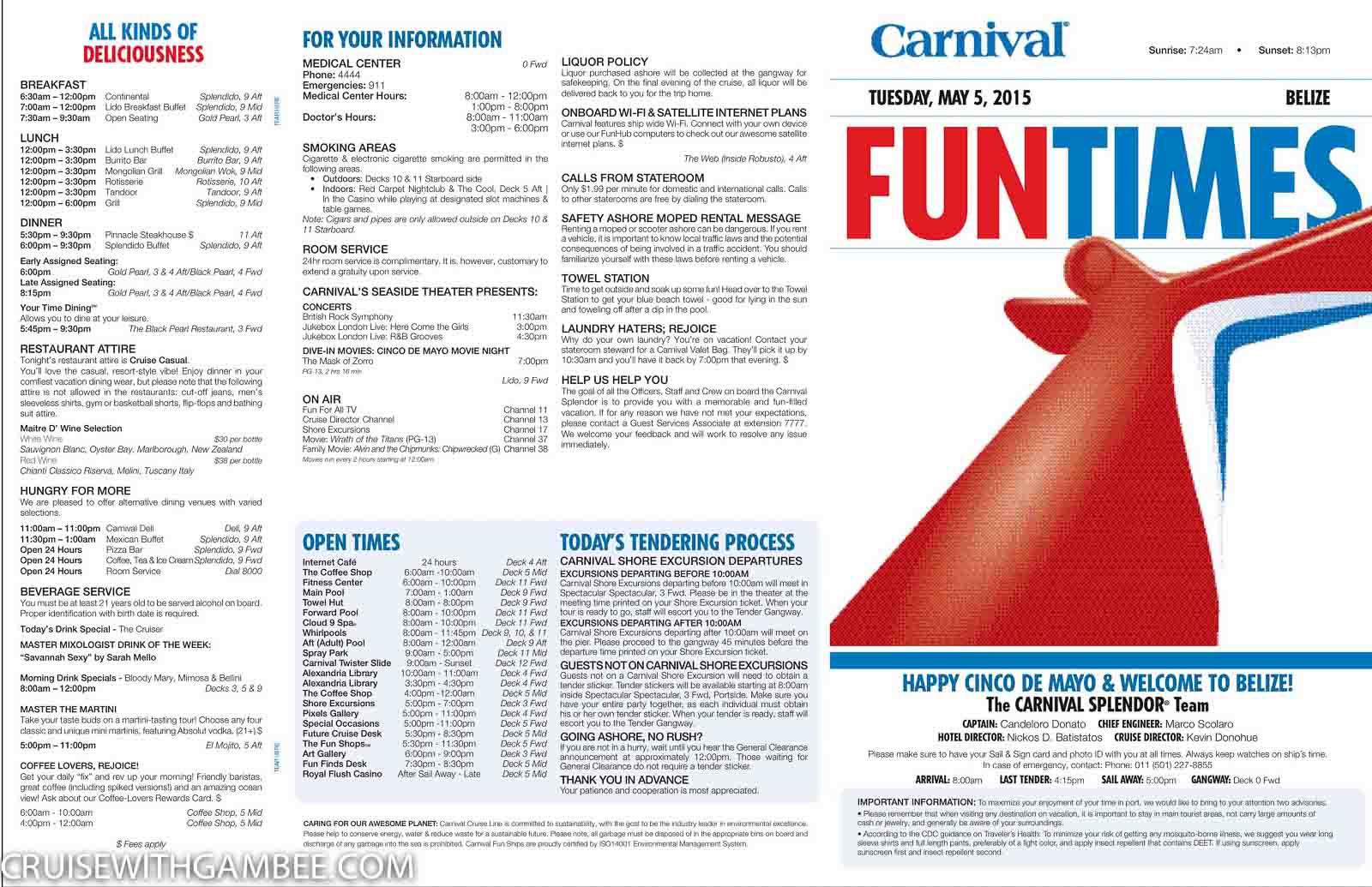 Carnival Splendor Funtimes-2