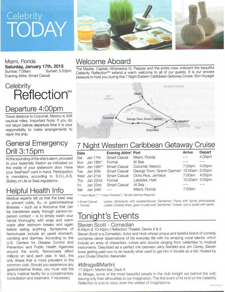 Celebrity Reflection Today Daily Activity planner-1