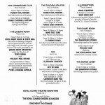 Curnard Queen Mary 2 Daily Programme Activities