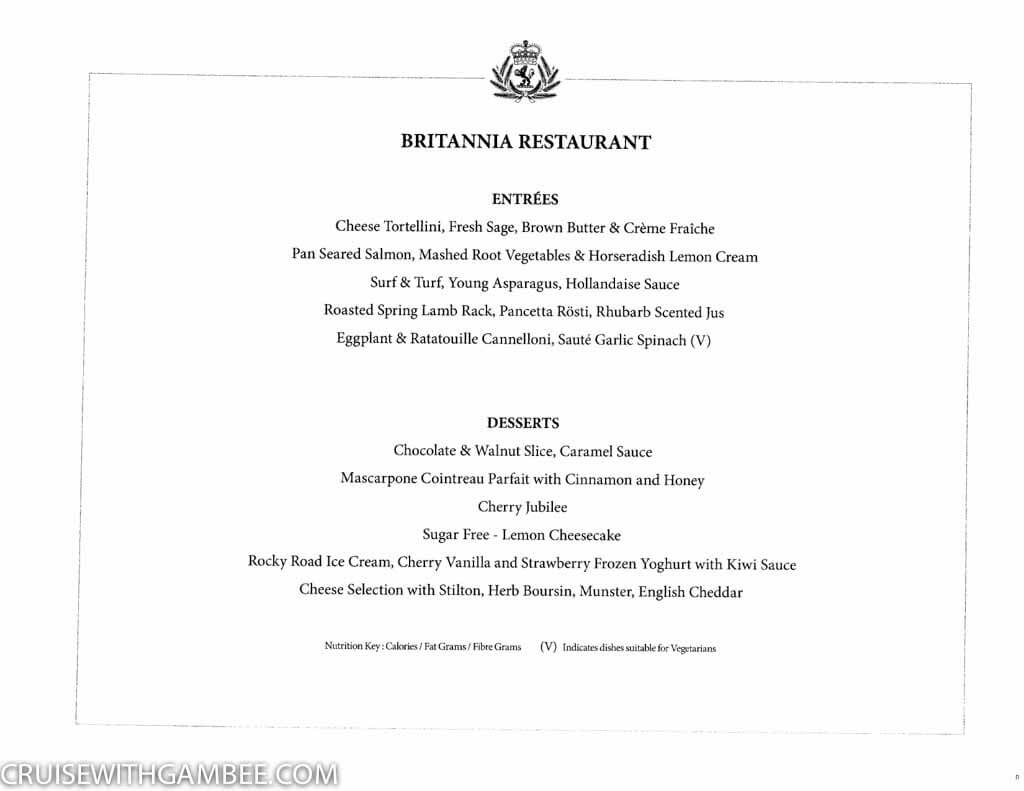 Curnard Queen Mary 2 Menus-3