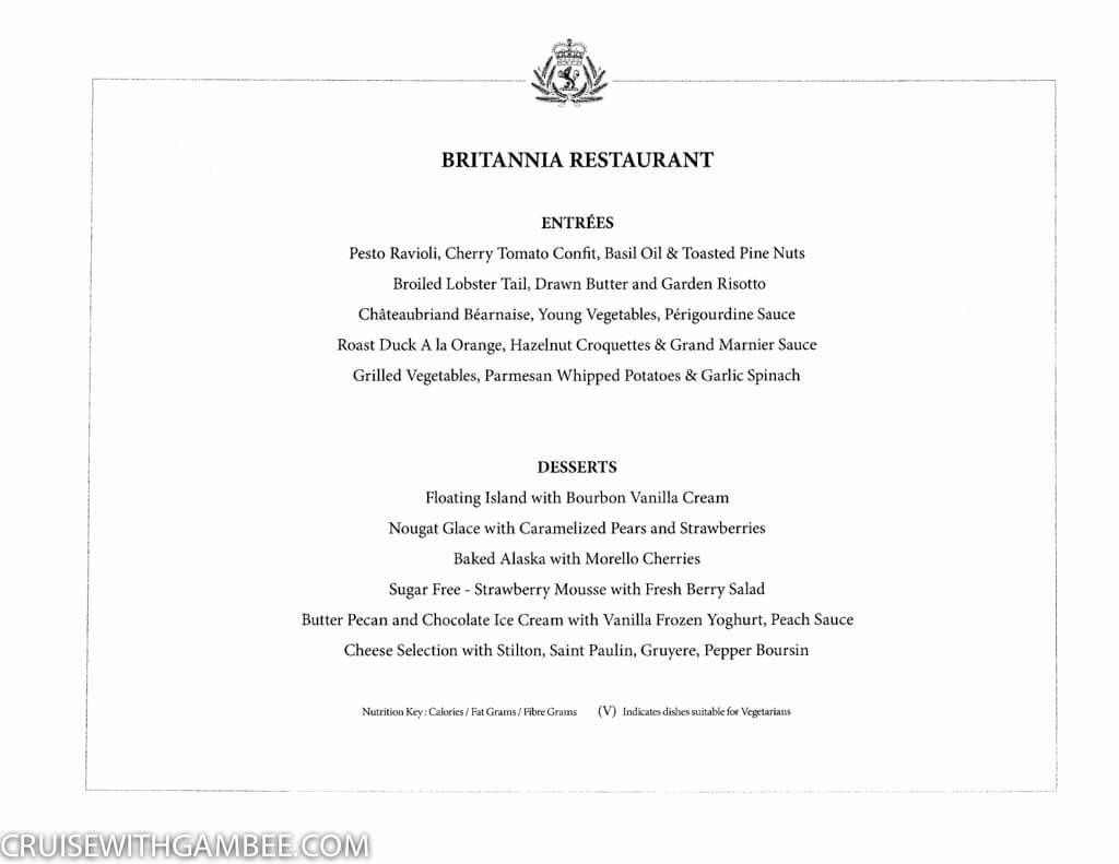 Curnard Queen Mary 2 Menus-9