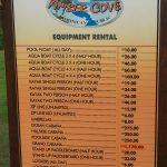 Amber Cove Equipment Rental Prices