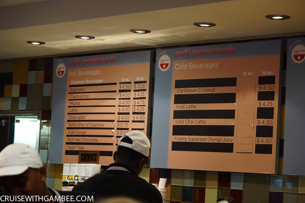 Royal Caribbean oasis of the seas drink prices-18