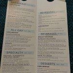 Harmony of the Seas Room Service Menu