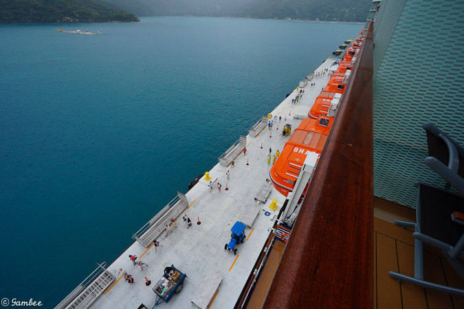 Celebrity Silhouette on Labadee