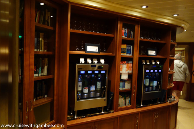 Carnival Breeze library