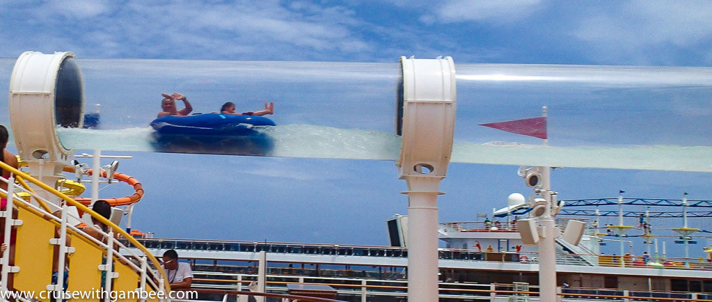 Cruise Ships Water Slides Review