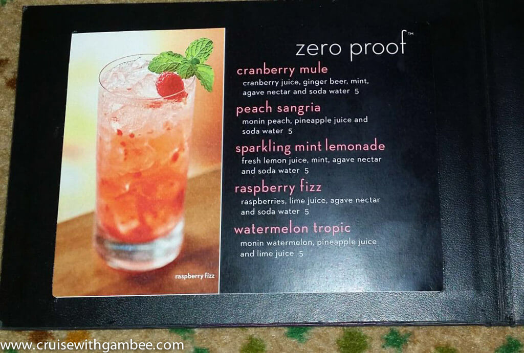Celebrity cruises 2015 drink list and prices-5