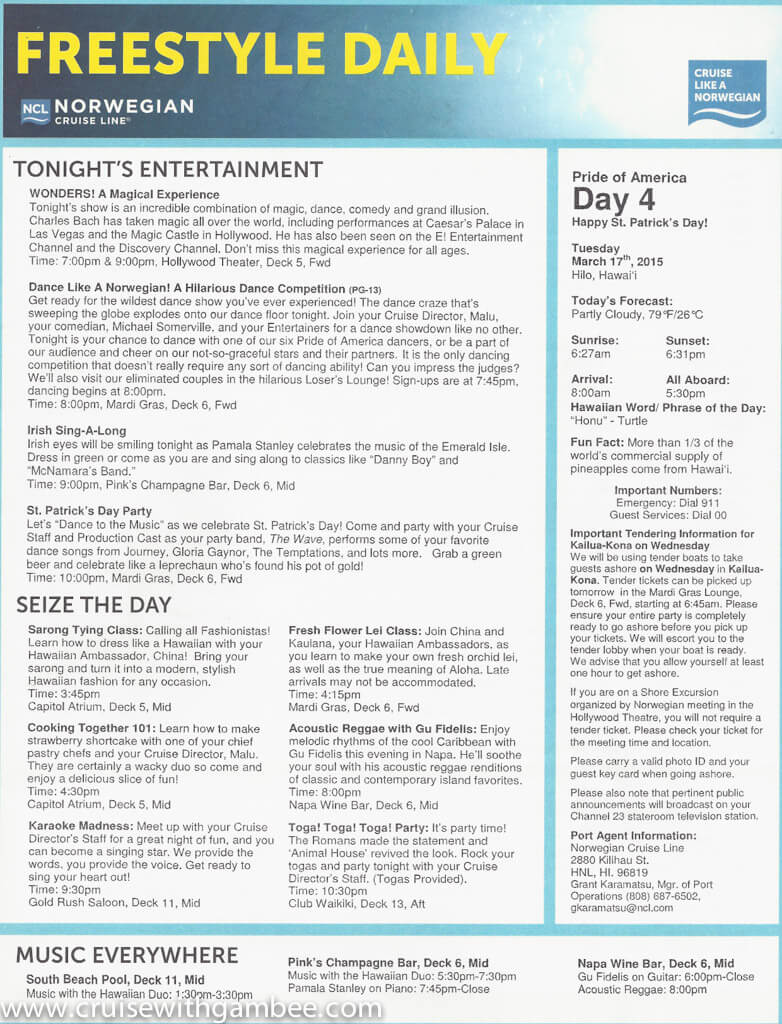 Pride of America freestyle daily documents-15