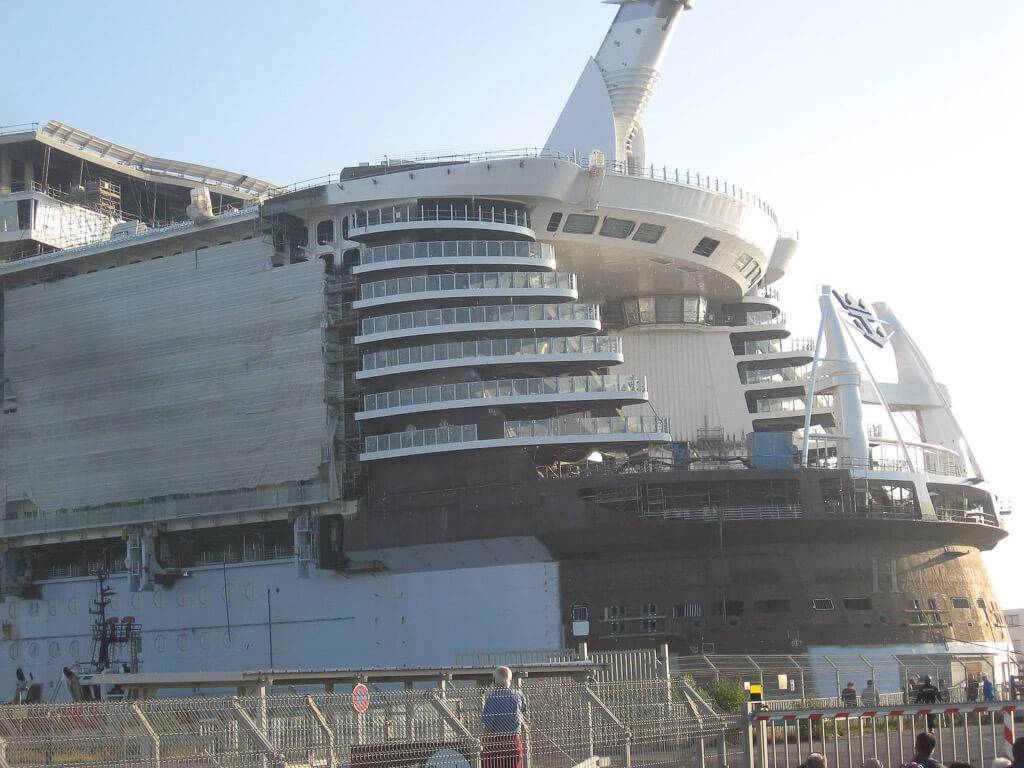 Harmony of the Seas Float Out-15
