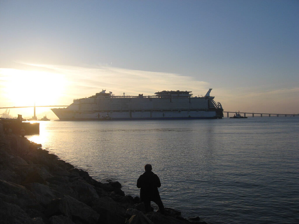 Harmony of the Seas Float Out-2