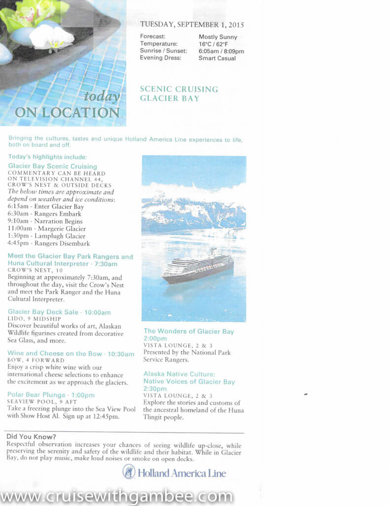 holland america on location daily papers-13